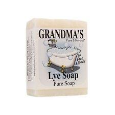 Remwood Grandma'S Lye 7 Oz Soap Bar - White