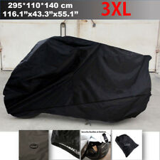 3XL Black Motorcycle Cover Protector Fit Honda Goldwing 1100 1200 1500 1800 GL