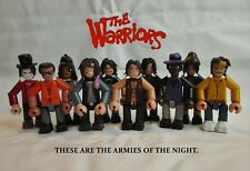 The Warriors 3 inch minifigure complete set - 10 x handmade OOAK jointed figures