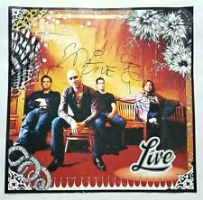 Live band REAL SIGNED 18x18 The Distance To Here Poster Flat COA Kowalczyk +3