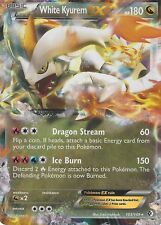 POKEMON B&W BOUNDARIES CROSSED CARD: WHITE KYUREM EX - 103/149 - ULTRA RARE HOLO