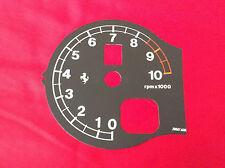 Ferrari F360 Modena, Spider, Challenge Drehzahlmesser schwarz Drehzahl