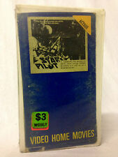 STAR PILOT / VHS /1960s SCI FI /VIDEO HOME MOVIES AUSTRALIA EDITION /NOT ON DVD
