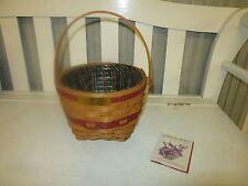 Longaberger Cristmas Collection Jingle Bell Basket Combo