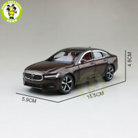 1/32 Jackiekim Volvo S90 shock absorption Diecast Model CAR model Toys kids Gift