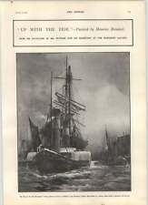 1902 Up With The Tide Maurice Randall Sea Pictures Archduke Charles Stephan