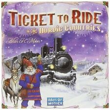 Ticket to Ride Nordic Countrys Dow7208