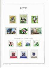 2016 MNH Letland, Latvia, year collection postfris**