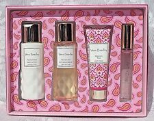 VERA BRADLEY Macaroon Rose Gift Set Eau De Toilette LOTION Shower GEL Hand CREAM