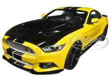 2015 FORD SHELBY MUSTANG GT YELLOW USA EXCLUSIVE 1/18 GT SPIRIT FOR ACME US002
