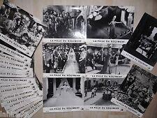 LA FILLE DU REGIMENT ! Antonella Lualdi  jeu 24 photos cinema lobby card 1953