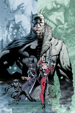 Batman Hush Jim Lee SDCC Comic Con Exclusive Poster Print Limited /275 DC Mondo