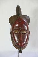 AO3 Baule Maske alt Afrika / Masque baoule ancien / Tribal baule mask
