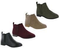 Fabulous Footwear Dealer Ankle Gusset Boots Ex Stores Smart Shoes Womens UK 4-8