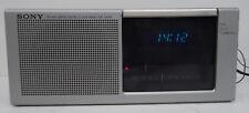 vintage alarm clock am fm radio - Sony Digimatic ICF-C20W Radiowecker Wecker