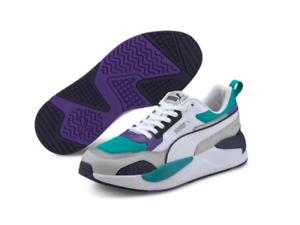 Puma X-Ray 2 Square Men's Running Shoes White/Blue/Purple 373108 05