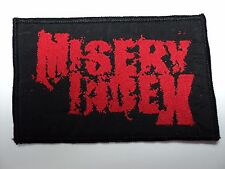 MISERY INDEX     WOVEN  PATCH