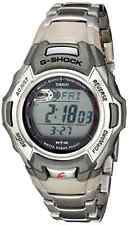 Casio Men's MTGM900DA G Shock Stainless Steel Tough Solar Atomic Digital Watch