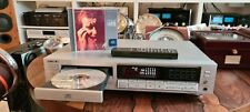 SONY CDP-590 + REMOTE from 90' high fidelity vintage !! silver JAPAN