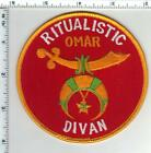 Shriners - Ritualistic - Omar - Divan - Shoulder Patch from 1980's