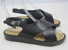 Summer Black Womens Shoes Sexy Open Toe Slingback Beach Sandals Size Us 6