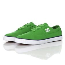 DC Shoes Flash TX Verde Blanco para Hombre Zapatillas (UK 6 EUR 39)