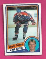 1984-85 OPC # 243 OILERS WAYNE GRETZKY GOOD CARD (INV# D0818)