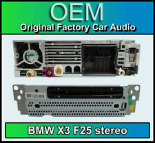 BMW X3 CD player stereo, BMW F25 Magneti Marelli Bluetooth DAB radio