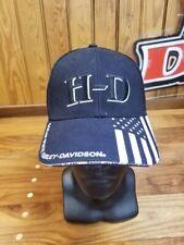 HARLEY-DAVIDSON RI Dealer Custom Baseball Cap Flag Full Custom Snap Back