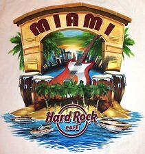 Hard Rock Cafe MIAMI FL 2014 City Tee T-SHIRT L XL or XXL 2X NEW with HRC TAGS!