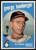 1959 Topps Set Break2 Nm High# George Bamberger Baltimore Orioles #529
