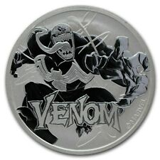 TUVALU 1 Dollar Argent 1 Once Venom 2020