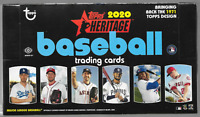 2020 TOPPS HERITAGE HOBBY BASEBALL 6 BOX LOT ( 1/2 CASE )
