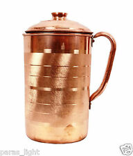 1200 ML Traditional Copper Jug Water Storage Flask Ayurvedic Health Benefits