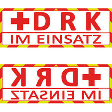 DRK im Einsatz Sonnenblende Wendeschild WSB2 (Dachaufsetzer, Dachschild)