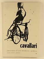 Cavallari panorama d'arte moderna grafica La Nuova Foglio editrice n. 6