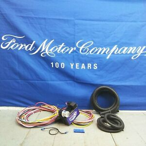 1966 - 1975 Ford Bronco Wire Harness Fuse Block Upgrade Kit rat rod hot rod