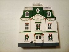 Cats Meow Village August Imgard House Hometown Christmas Series 1992 vintage