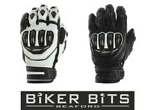 RST Tractech Evo CE Approved Short Cuff Leather Motorcycle Sports Gloves