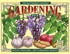 The Old Farmer's Almanac 2018 Gardening Calendar (Calendar)