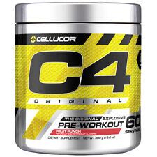 Cellucor C4 Original Pre Workout Powder, Fruit Punch, 60 Servings