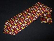 Wahington Redskins Tie NFL Team Sports Lovers Football Novelty Gift 100 Silk NEW