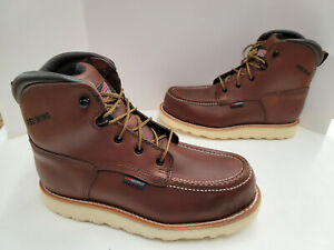 """Red Wing 6"""" TRACTION TRED Waterproof Non-Metallic Safety Toe EH Boots 2415 Brown"""