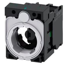 Siemens Sirius actuar bloque y titular de la luz 1NO LED Azul 6 â??? 24 V AC/DC Tornillo a largo plazo