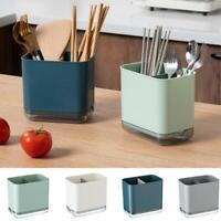 Multifunctional Spoon Chopstick Storage Holder Box Cutlery Drain Rack Organizers
