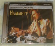 HAMMETT (John Barry) rare orig. import ltd.ed. factory sealed cd (2000)  OOP!