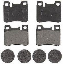 ACDelco 17D620M Rear Semi Metallic Brake Pads