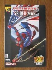 Ultimate Spider-Man 1/2  Wizard World East Flag Variant Signed by Mark Bagley