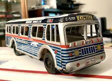 10 1/4� Vintage Greyhound Lines Highway Traveler Bus
