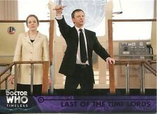 Doctor Who Timeless Purple Parallel [##/50] Base Card #58 Last of the Time Lords